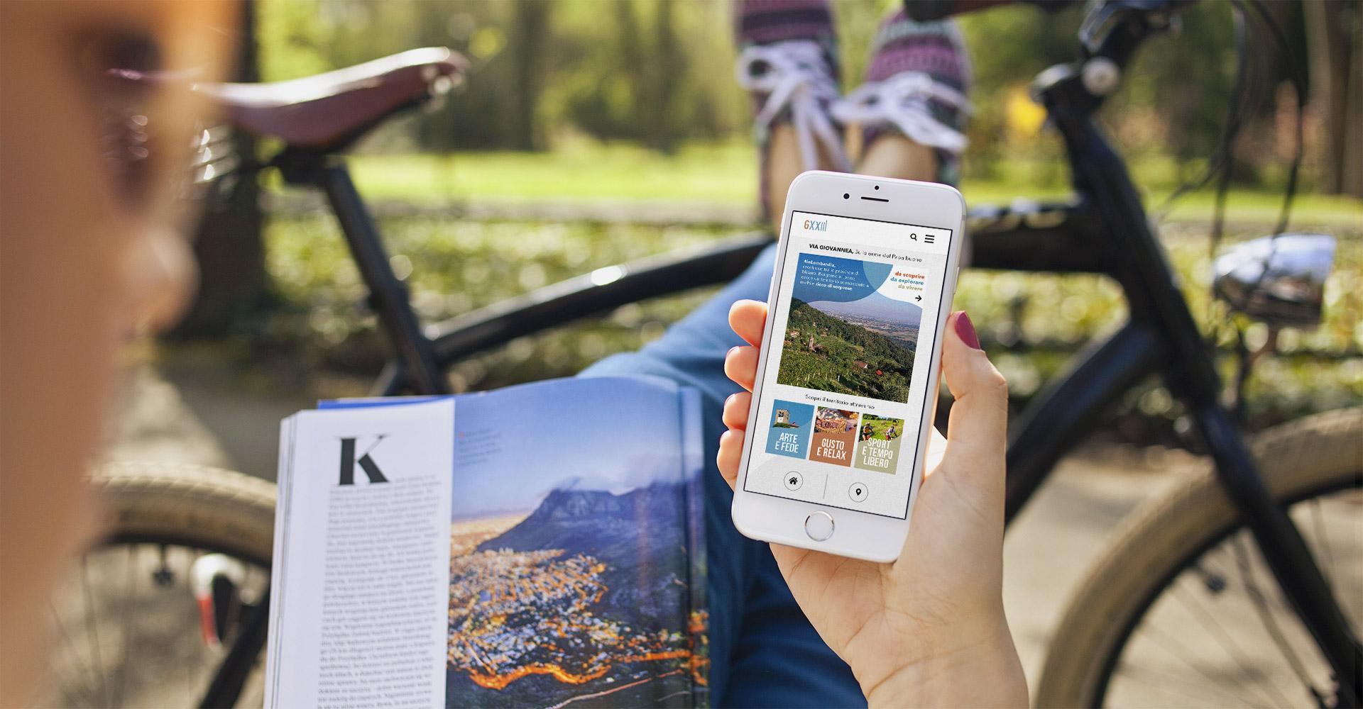 È online l'App </br>della Via Giovannea